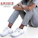 zapatillas blancas invierno 2019 Sky Blue