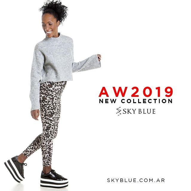 zapatillas con plataformas invierno 2019 Sky Blue