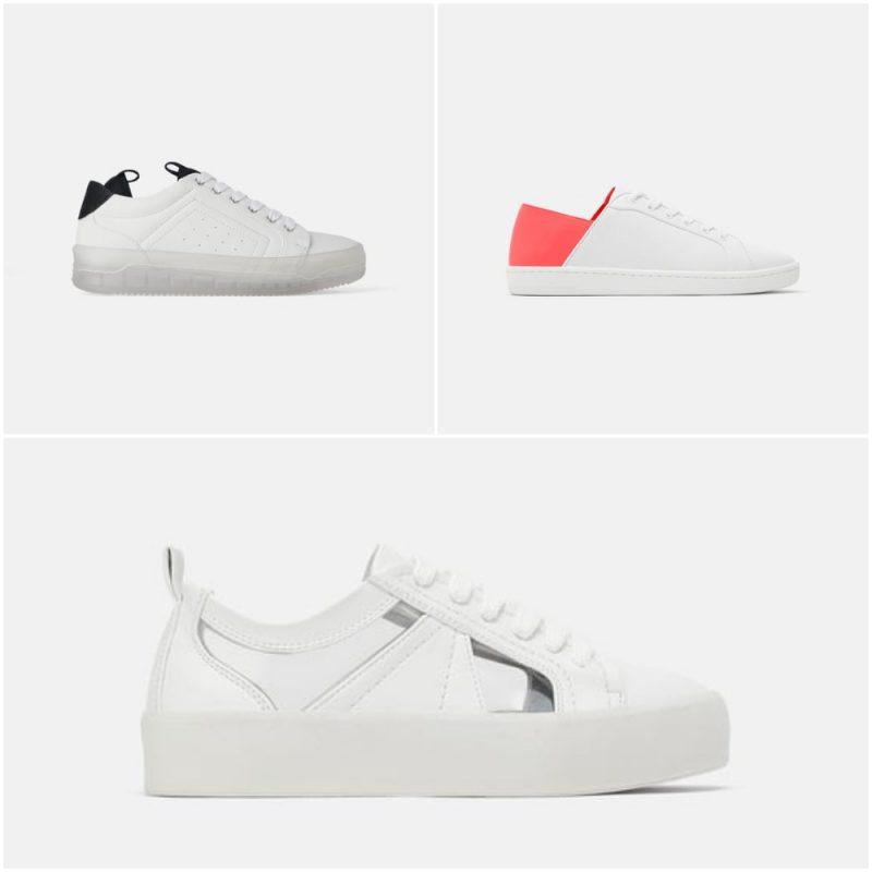 zapatillas urbanas para mujer blancas verano 2020 tendencia calzados Argentina