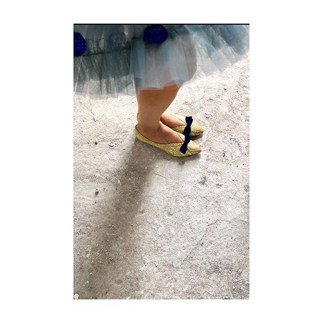 zapatos amarillos invierno 2019 de Le Loup