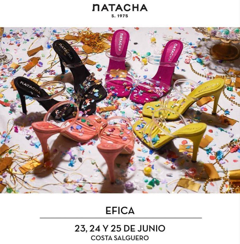 Sandalias altas para fiestas verano 2020 Natacha Calzados