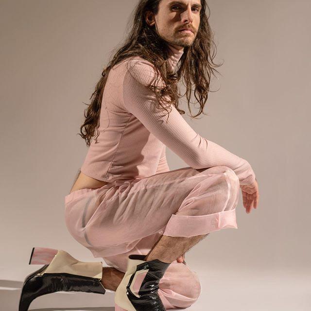botas en blanco y negro Jessica Kessel Shoes