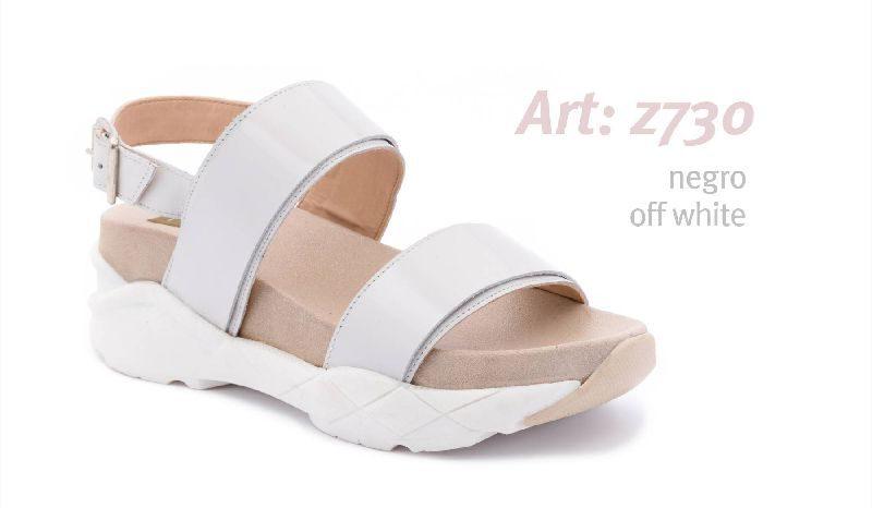 Sandalias blancas Traza verano 2020