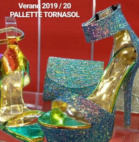 Sandalias con glitter verano 2020 Bonzini