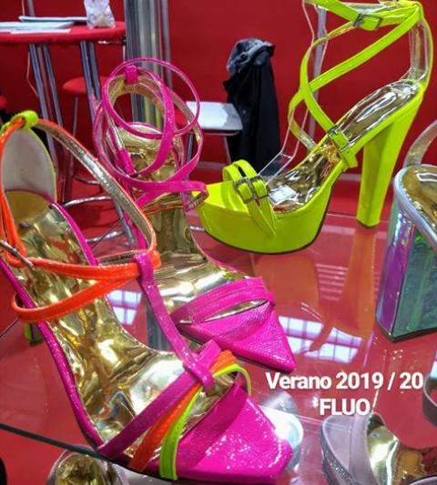 Sandalias de fiesta fluor verano 2020 Bonzini