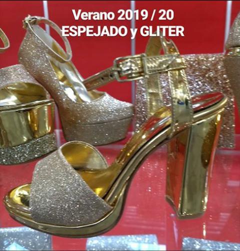 Sandalias doradas verano 2020 Bonzini