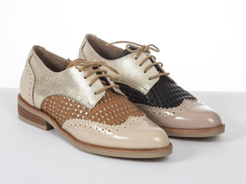 Zapato abotinado mujer primavera verano 2020 Micadel