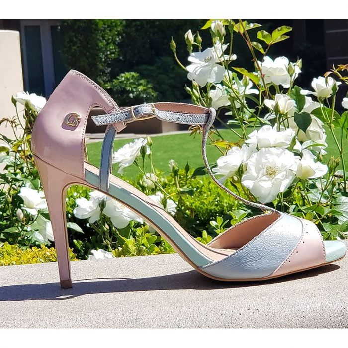 Zapatos de fiesta tonos pasteles verano 2020 Carmen Steffens