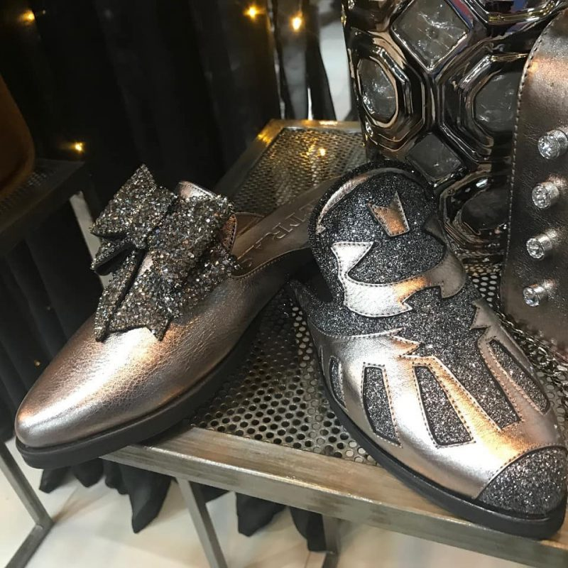 Zapatos metalizados para mujer verano 2020 Pietras
