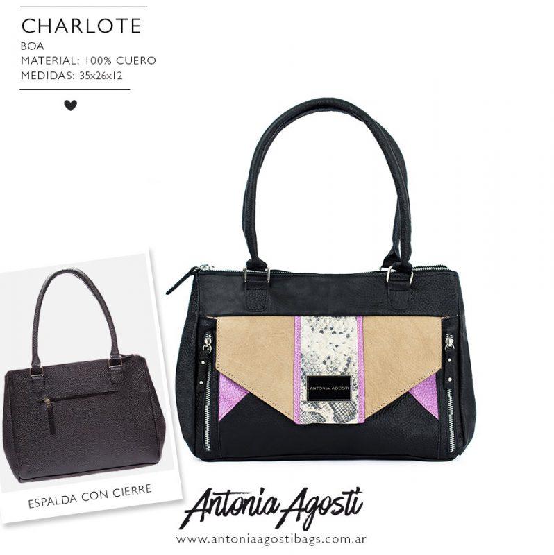 cartera negra original y elegante primavera verano 2020 Antonia Agosti Bags