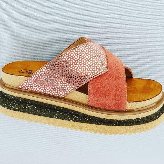 sandalias bajas mujer coral verano 2020 Pataugas