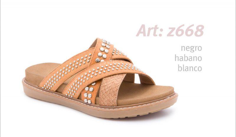 sandalias planas marrones primavera verano 2020 Traza