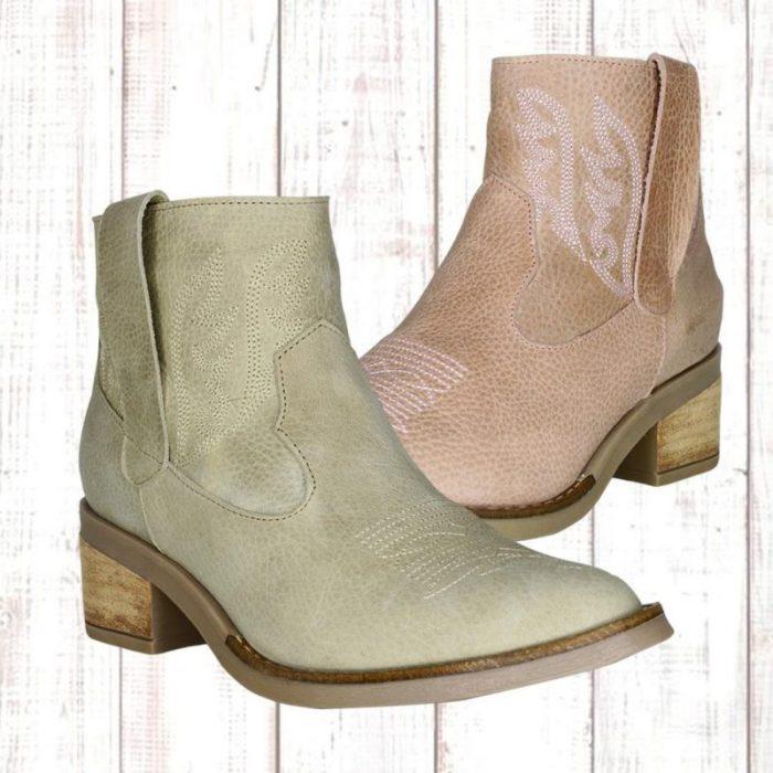 Botitas texanas primavera verano 2020 Fiori calzature