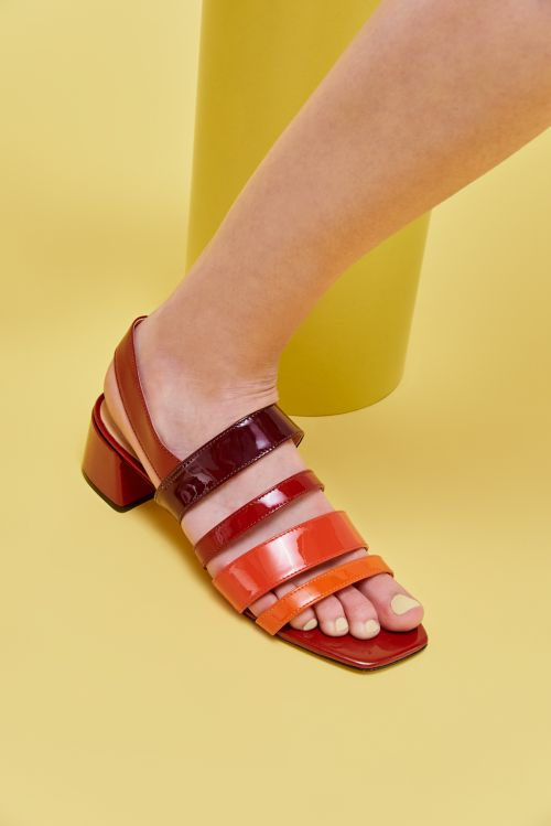 Sandalia multicolor primavera verano 2020 Mishka