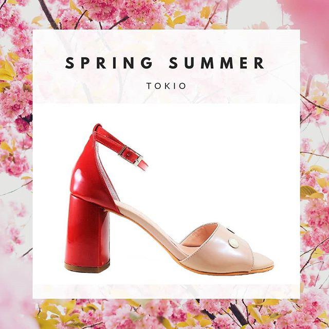 Sandalias altas roja y rosa verano 2020 Micheluzzi