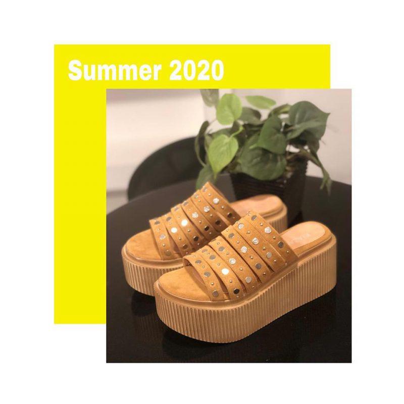 Sandalias con base alta primavera verano 2020 Kiazalla