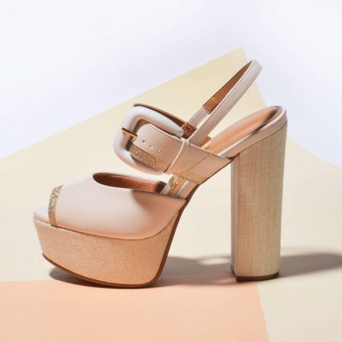 Sandalias con plataformas primavera verano 2020 Vizzano
