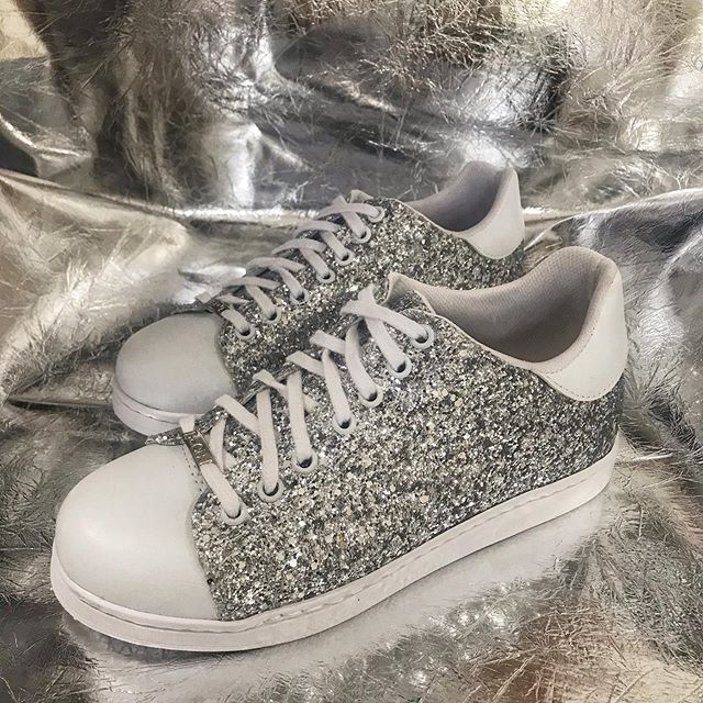 Zapatillas con glitter verano 2020 Luna Chiara