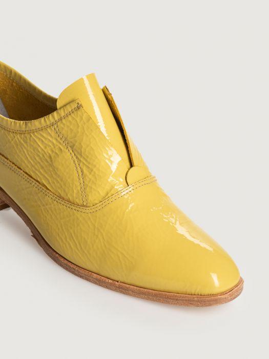Zapatos abotinados mujer amarillos Prune primavera verano 2020