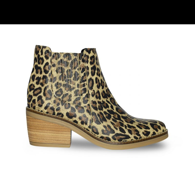 botineta leopardo primavera verano 2020 Fiori calzature