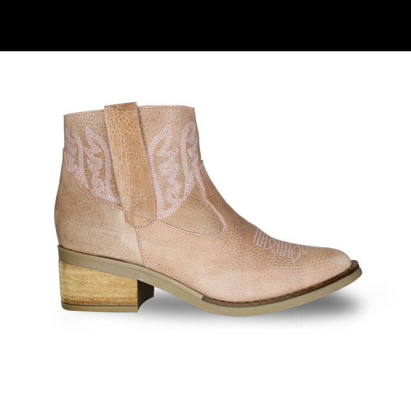 botita texana primavera verano 2020 Fiori calzature