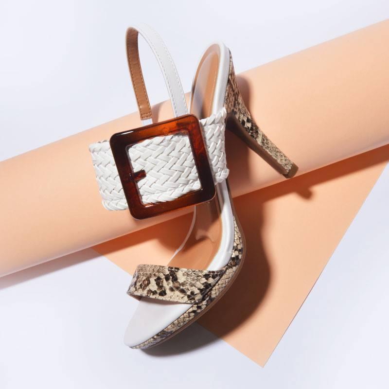 sandalia alta animal print primavera verano 2020 Vizzano