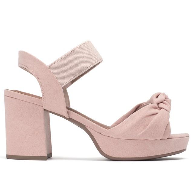 sandalias altas rosas Piccailly verano 2020