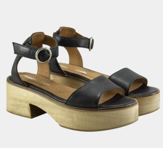 sandalias bajas base madera verano 2020 Maggio Rossetto