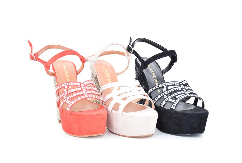 sandalias con plataformas primavera verano 2020 Salvame Maria