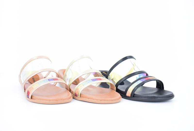 sandalias planas transparente primavera verano 2020 Salvame Maria