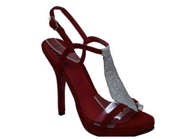 sandalias rojas de fiesta Sandalias rojas Luis XV Kaitz verano 2020