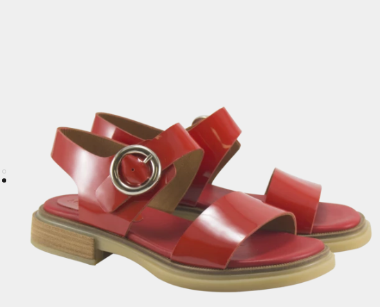 sandalias rojas verano 2020 Maggio Rossetto