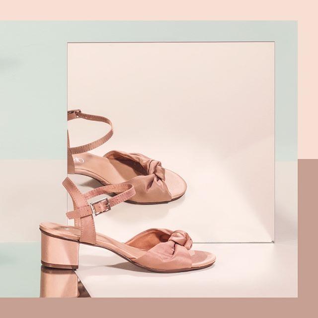 sandalias taco bajo verano 2020 Via Uno