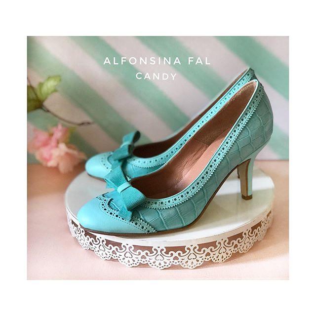 stiletos turquesas verano 2020 Alfonsina Fal