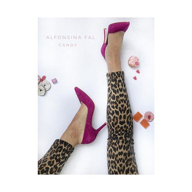 stiletto morados verano 2020 Alfonsina Fal