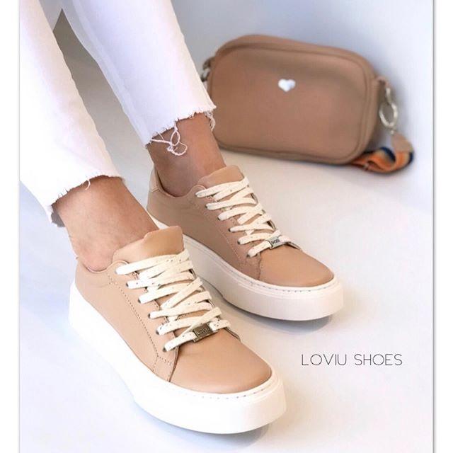 zapatilla simil cuero primavera verano 2020 Loviu Shoes