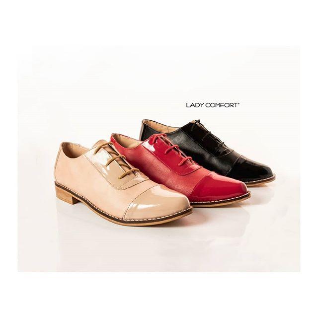 zapatos abotinados primavera verano 2020 Lady Comfort