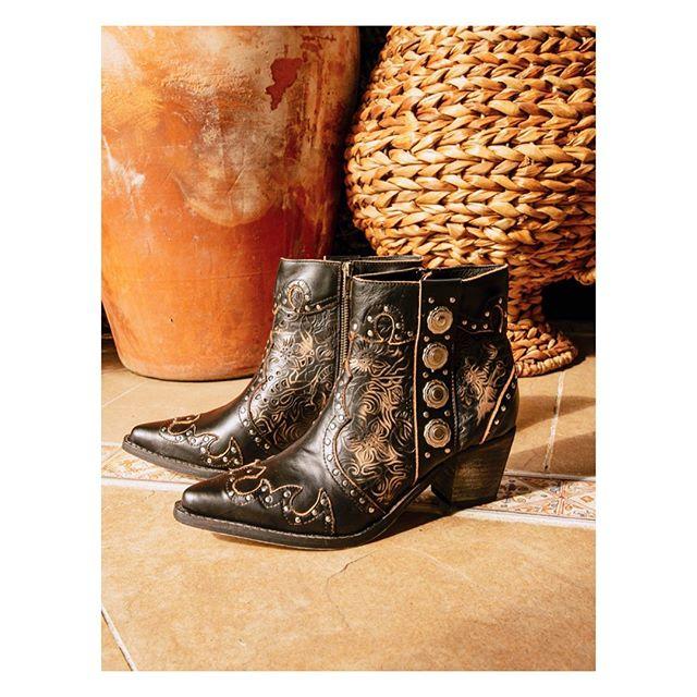 botas de cuero texanas primavera verano 2020 Bendito Pie