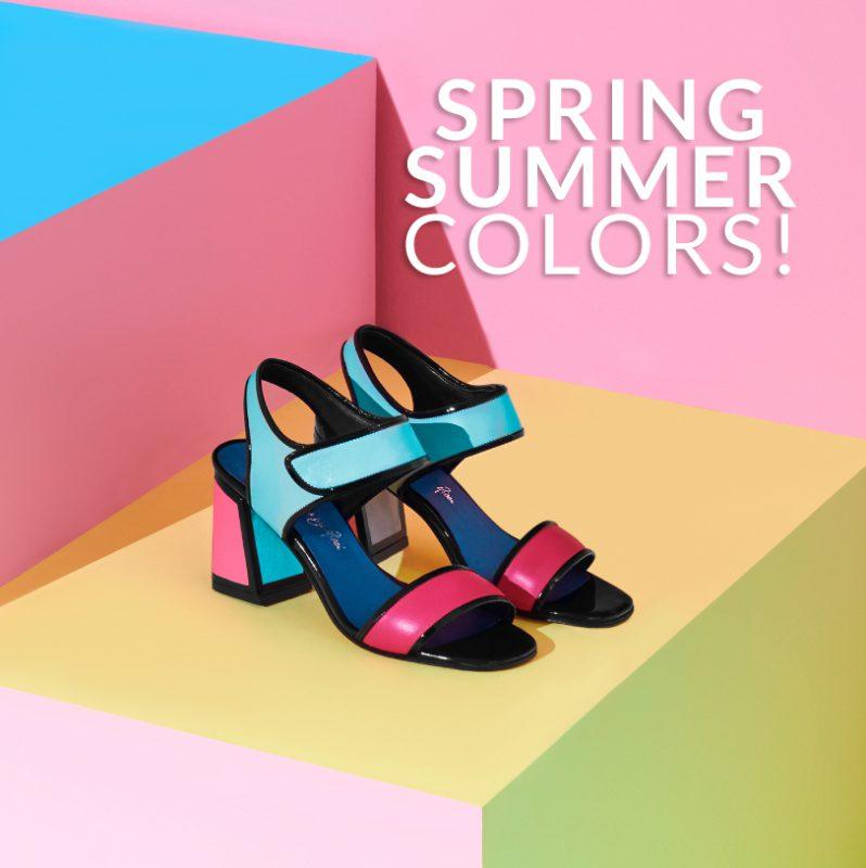 sandalia multicolor para fiestas verano 2020 Saverio Di Ricci
