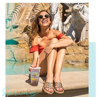 sandalia plana primavera verano 2020 Laura Constanza