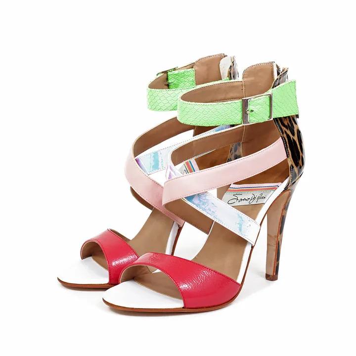 sandalias altas originales verano 2020 Saverio Di Ricci
