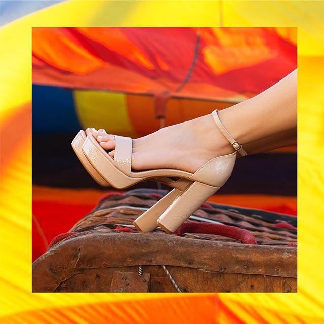 sandalias altas primavera verano 2020 Lady Stork