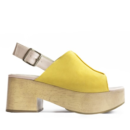 sandalias amarillas primavera verano 2020 Kloosters