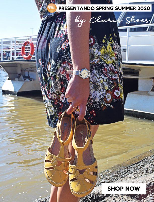sandalias amarillas primavera verano 2020 Señoras Claris Shoes