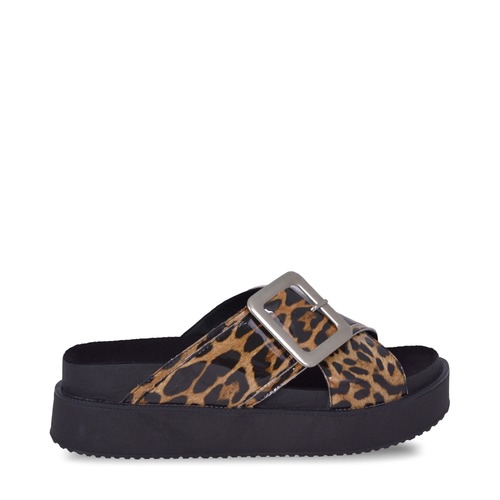 sandalias animal print verano 2020 Sky Blue
