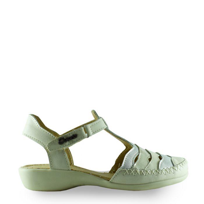 sandalias blancas para señoras verano 2020