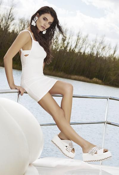 sandalias blancas primavera verano 2020 Anca Co