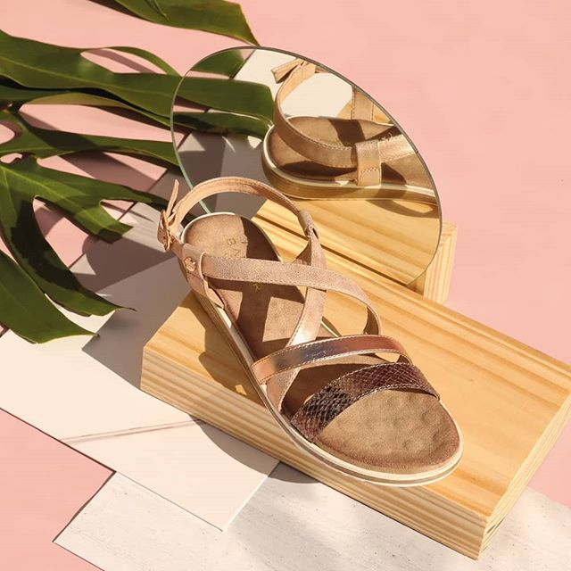 sandalias de moda linea confort verano 2020 Barker