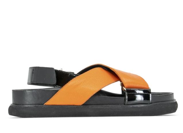 sandalias naranjas verano 2020 Chwala