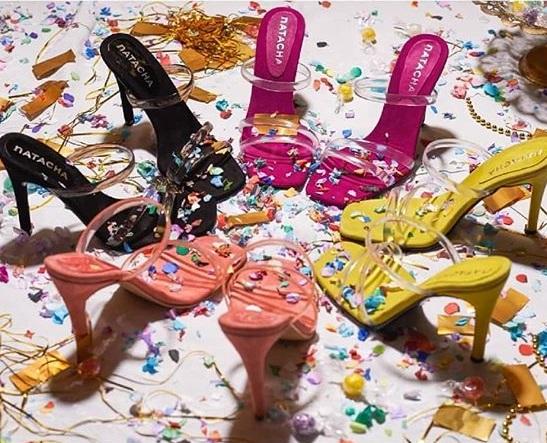 sandalias para fiesta colores alegres verano 2020 Natacha